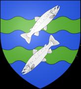 Blason ville fr Mont-Saint-Michel (Manche)