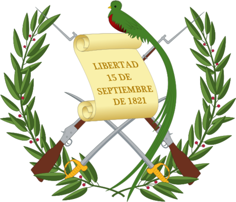 Guatemala coat of arms
