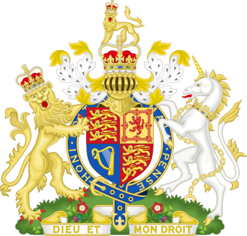 Royal Coat of Arms of the United KingdomCC